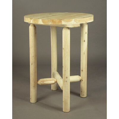 Dining Table Rustic Natural Cedar Furniture Color: Clear Coat