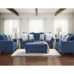 Huntland 4 Piece Standard Living Room Set by Red Barrel Studio®