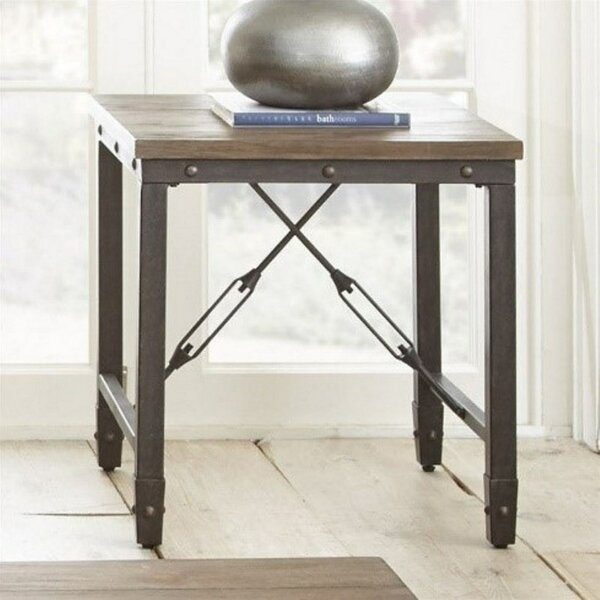 Cast Iron End Table by LYKE Home