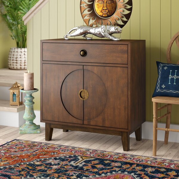 Sheron 2 Door Accent Cabinet by Bloomsbury Market