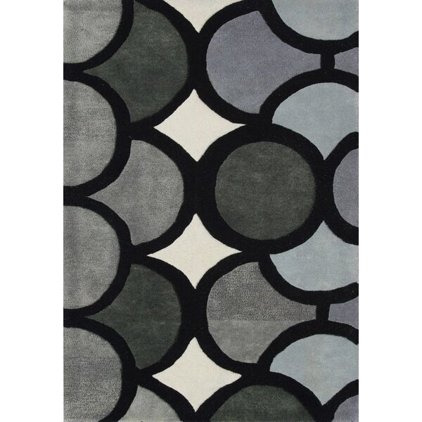 Hand-Tufted Gray Area Rug by The Conestoga Trading Co.
