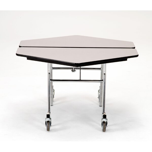 48 Hexagon Cafeteria Table by National Public Seating