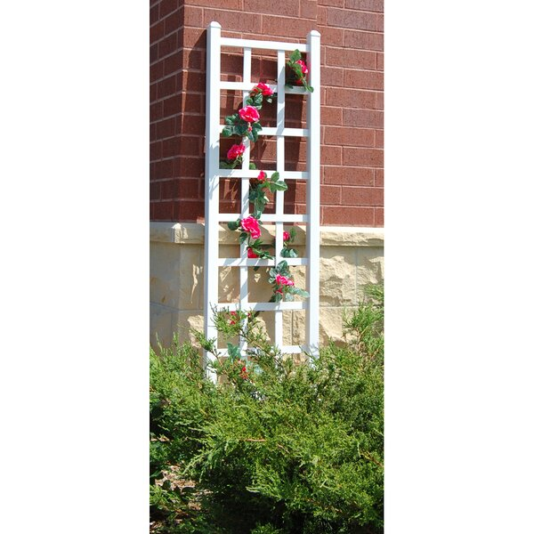 Elmwood Vinyl Lattice Panel Trellis by Dura-Trel