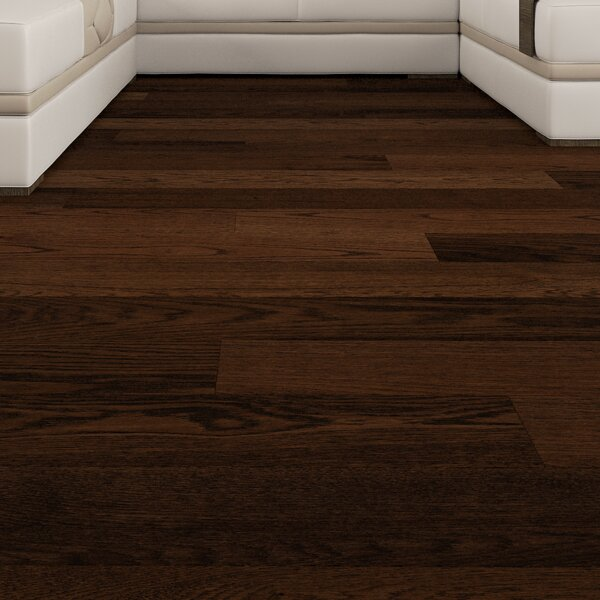 Cabrillo 5 Engineered Oak Hardwood Flooring in Brown by GoHaus