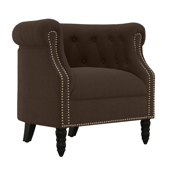 Huntingdon Chesterfield Chair by Three Posts Three Posts