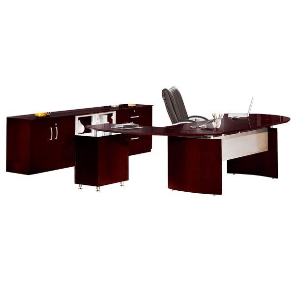 Ulster Desk, Storage Cabinet and Filing Cabinet Set
