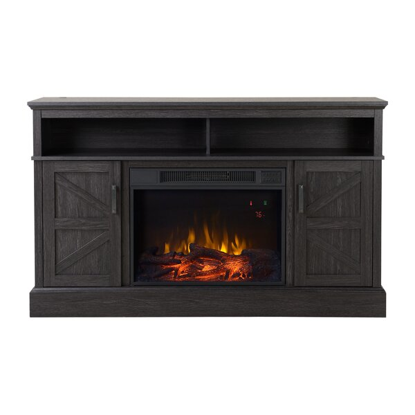 Aspen Media Electric Fireplace TV Stand by Homestar