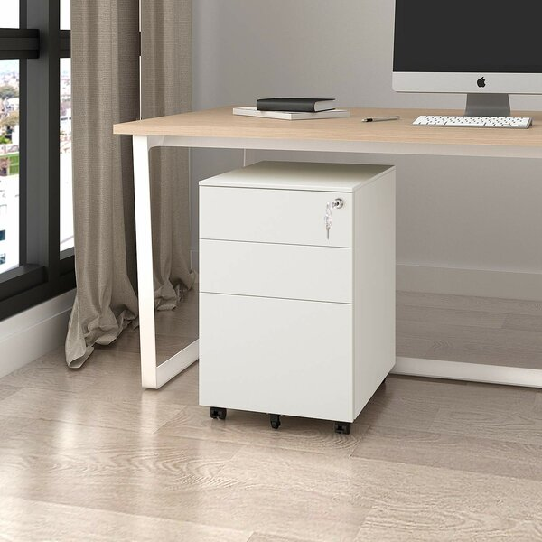 Hambly 3-Drawer Vertical Filing Cabinet