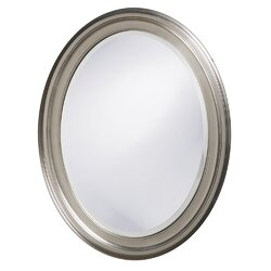 Oval Wall Mirror red barrel studio oval wood wall mirror & reviews | wayfair