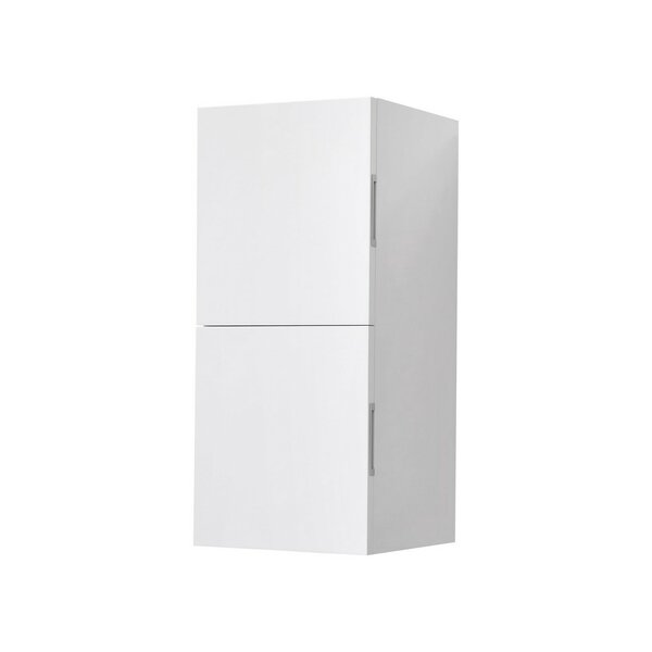 Seamus 12.5 W x 27.5 H Wall Mounted Cabinet by Wade Logan