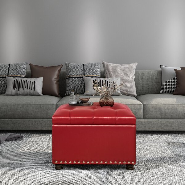 Magoon High-End Classy Rectangular Tufted Storage Ottoman By House Of Hampton