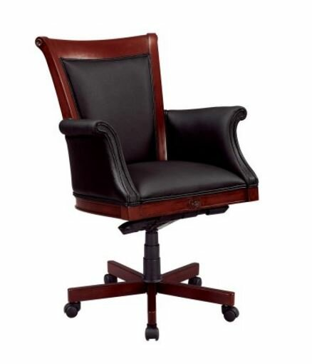 Leather Bankers Chair by Flexsteel Contract