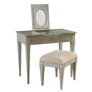 Parc Saint-Germain Vanity Set with Mirror by French Heritage
