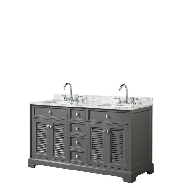 Tamara 60 Double Bathroom Vanity Set