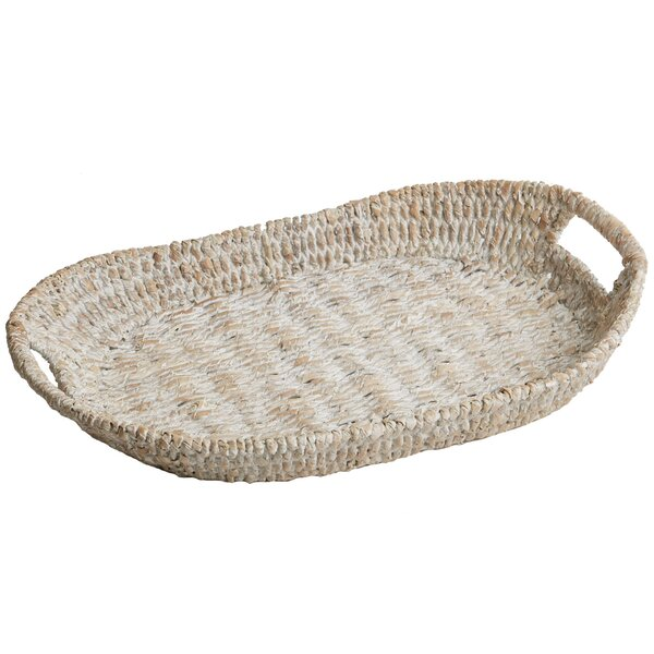Luz Oval Tray by Mistana