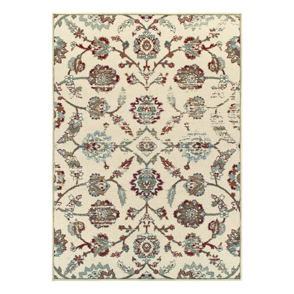Proto Contemporary Ivory Area Rug by Charlton Home