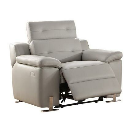 Aislinn Upholstered Leather Power Recliner by Brayden Studio