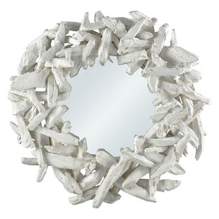 Rosecliff Heights Selbyville White Wood Accent Mirror