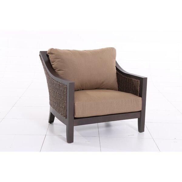 Behl Patio Chair with Cushion (Set of 2) by Latitude Run Latitude Run