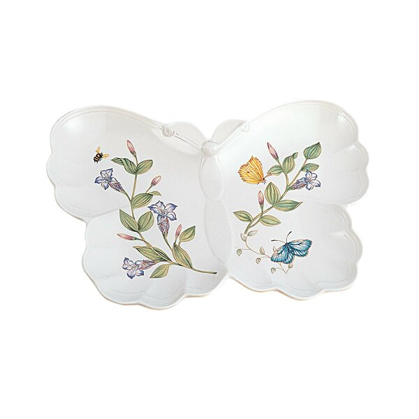 Butterfly Meadow Condiment Server by Lenox