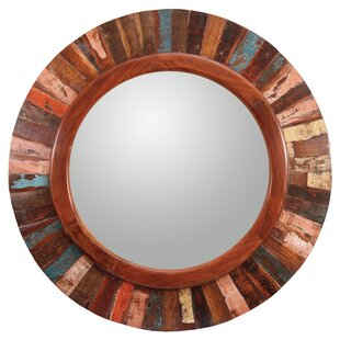 Loon Peak Round Wall Mirror