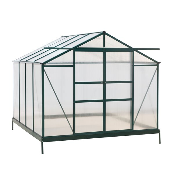 8 Ft. W x 8 Ft. D Greenhouse by Sunjoy