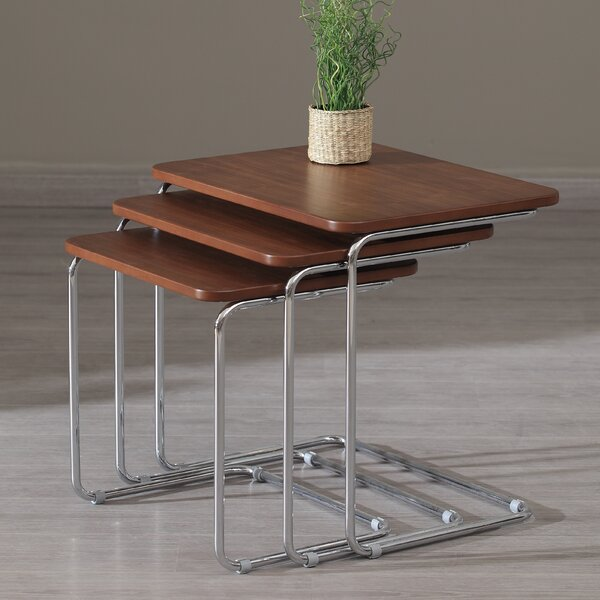 Kent 3 Piece Nesting Tables By La Viola Décor
