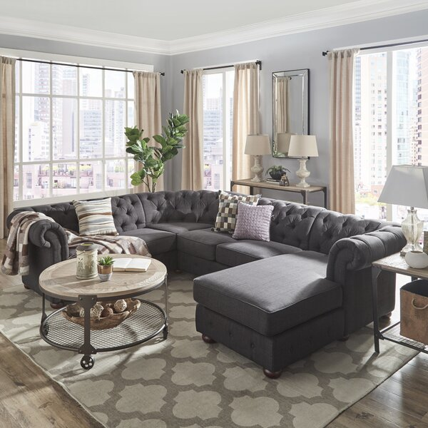 Valuable Today Brockway Sectional by Darby Home Co by Darby Home Co
