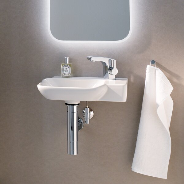 Twins Vitreous China 16 Wall Mount Bathroom Sink by Bissonnet
