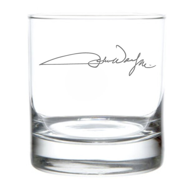 John Wayne Signature 11 oz. Glass (Set of 4) by Rolf Glass