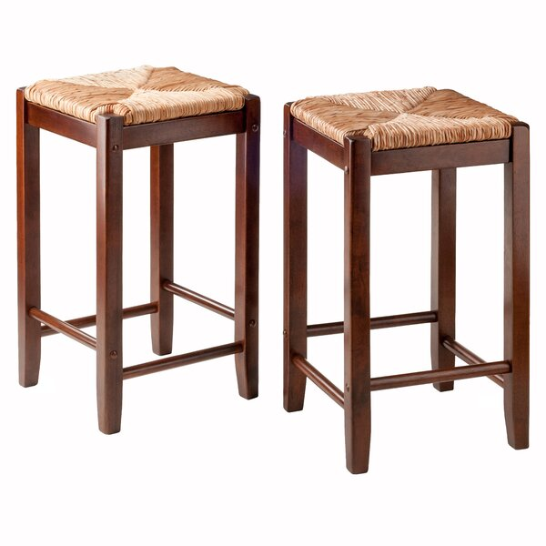 Kaden 24.02 Bar Stool (Set of 2) by Winsome