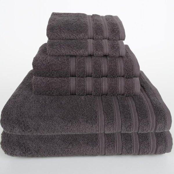 Gilston 6 Piece Turkish Cotton Towel Set by Mi Casa Deco