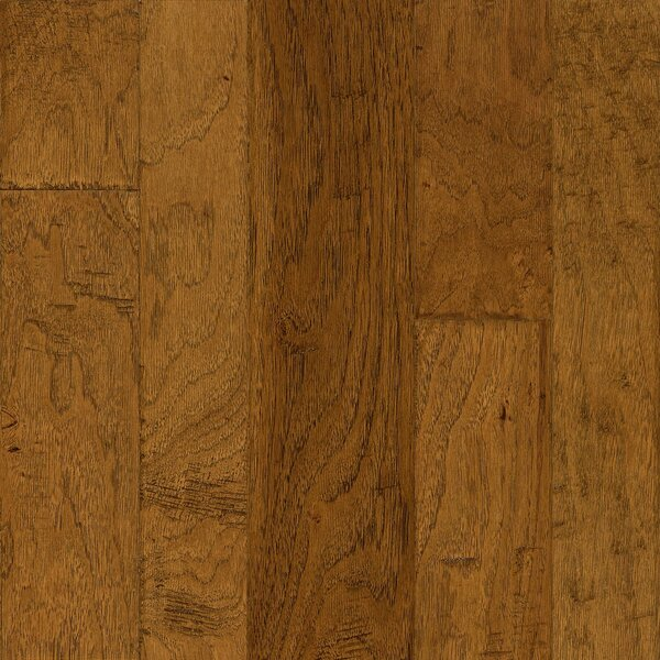 Artesian Random Width Engineered Hickory Hardwood Flooring in Wheatland by Armstrong Flooring
