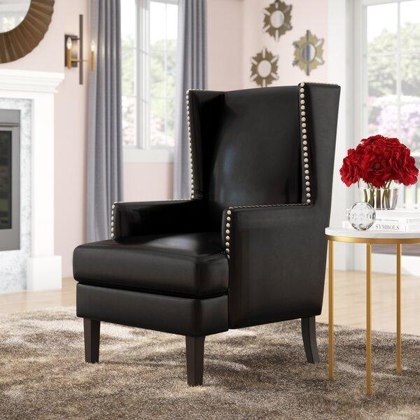 Adamek Wingback Chair by Willa Arlo Interiors
