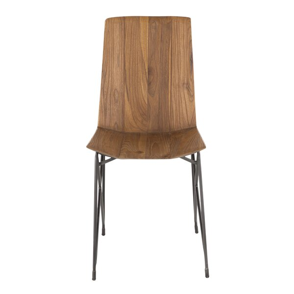Rutledge Solid Wood Dining Chair (Set of 2) by Union Rustic