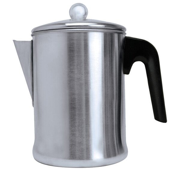 Stove Top Aluminum Coffee Percolator by Primula