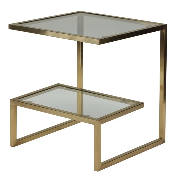 Ellesmere End Table With Storage By Mercer41