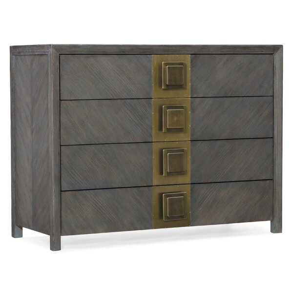 Melange Vega 4 Drawer Accent Chest by Hooker Furniture