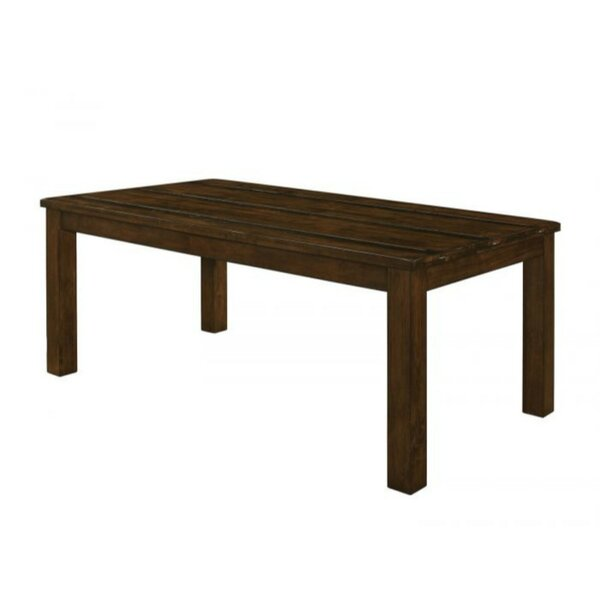 Veney Pastoral Wooden Dining Table by Millwood Pines