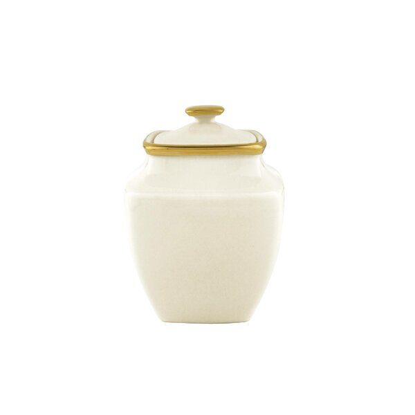 Eternal Sugar Bowl with Lid by Lenox