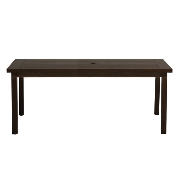 Club Metal Dining Table by Summer Classics