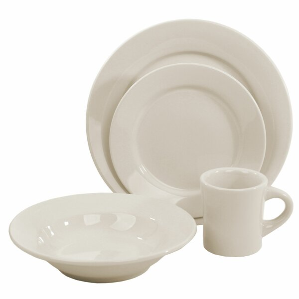 Buffalo 5 Piece Place Setting Set, Service for 1 (Set of 4) by Oneida