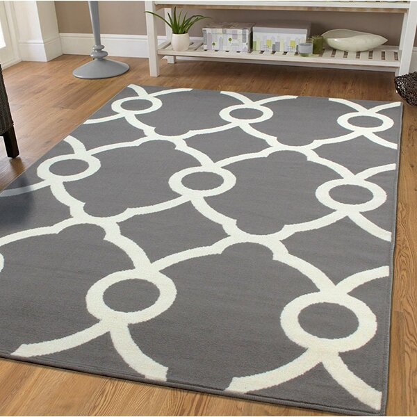 Pleione Gray Indoor/Outdoor Area Rug by Wrought Studio