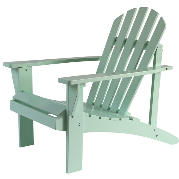 Laussat Wood Adirondack Chair By Highland Dunes