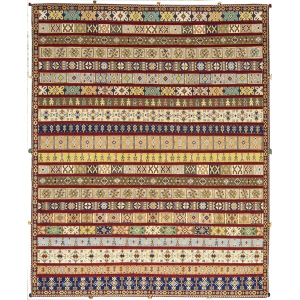 One-of-a-Kind Hand-Knotted Wool Red Area Rug by Bokara Rug Co., Inc.