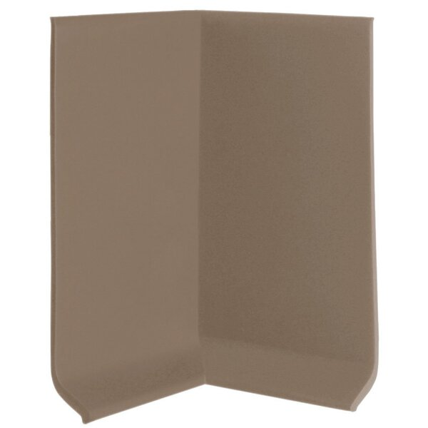 0.13 x 4 x 2.25 Cove Molding in Fawn (Set of 25) by ROPPE