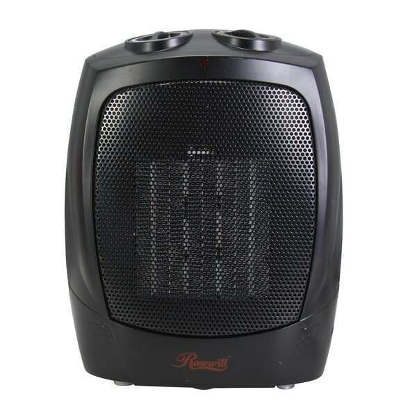1500 Watts Portable Electric Compact Ceramic Heater by Rosewill