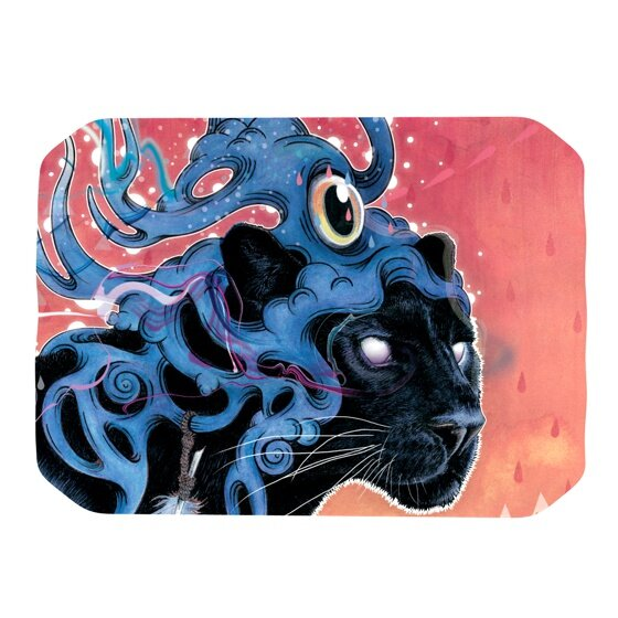 Farseer Placemat by KESS InHouse