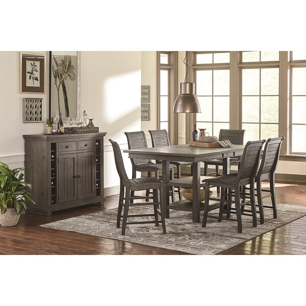 Epine Rectangular Counter Height Dining Table by Lark Manor