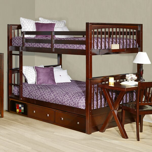 Susan Bunk Bed with Drawers by Viv + Rae